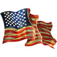 American Flag 3D Wall Art Metal Wall Art By Next ...