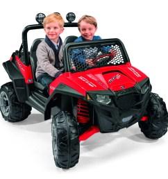 peg perego polaris ranger rzr 900 12 volt battery powered ride on red walmart com [ 1695 x 1672 Pixel ]