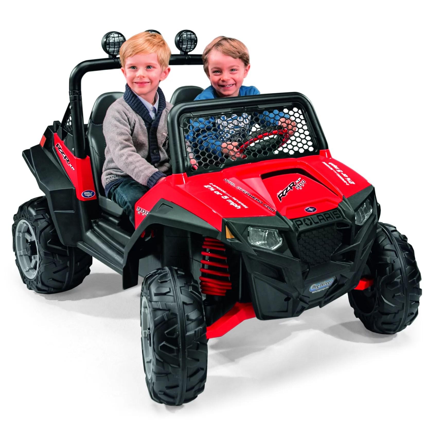 hight resolution of peg perego polaris ranger rzr 900 12 volt battery powered ride on red walmart com