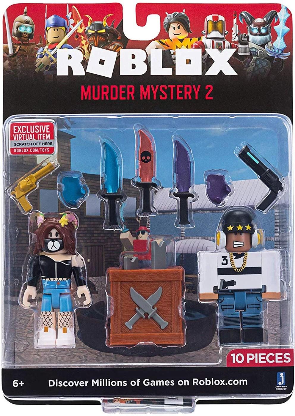 Roblox Www Toys Com : roblox, ROBLOX, Packs, Murder, Mystery, Walmart.com