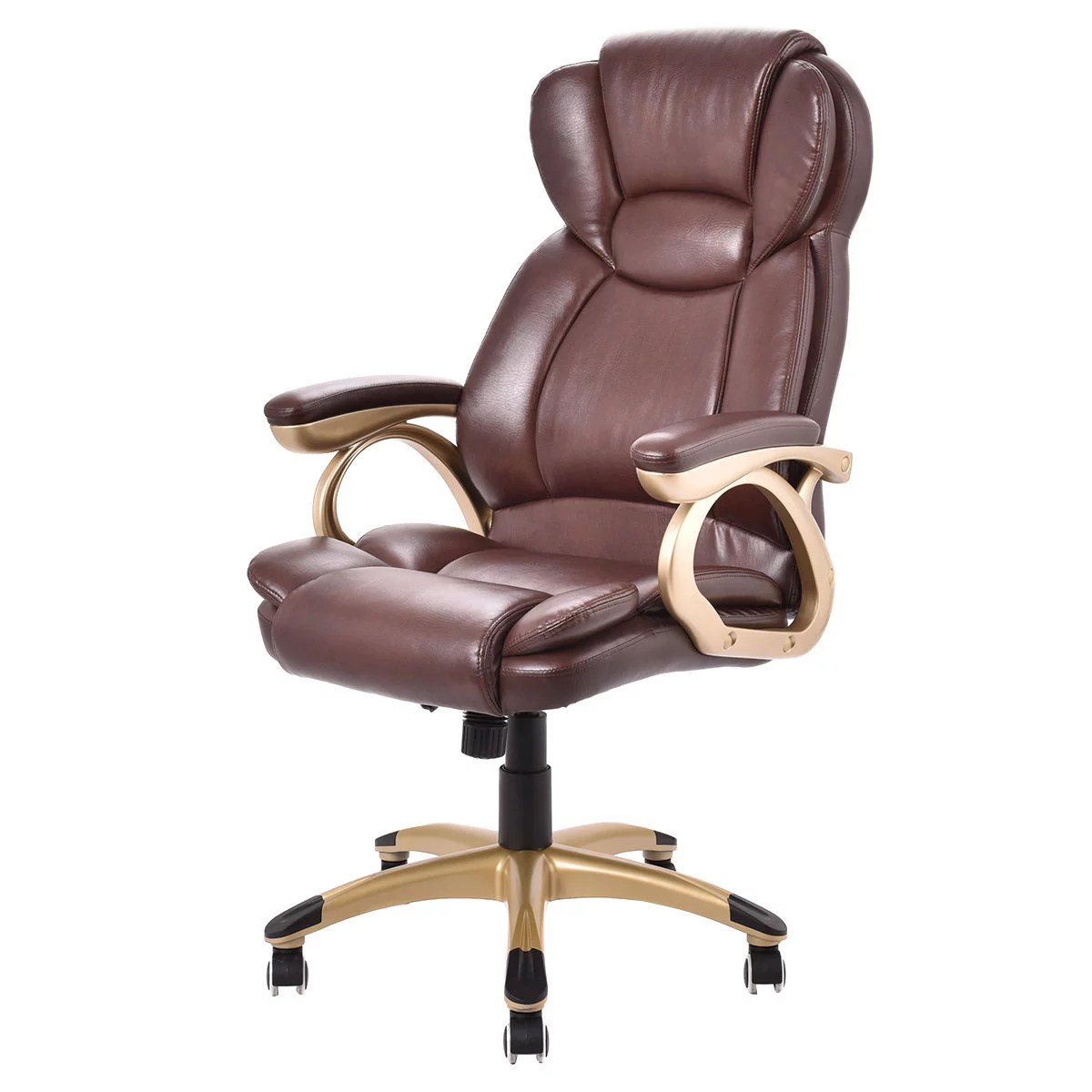 staples turcotte chair brown swivel desk without wheels high back office contemporary urban home ideas costway ergonomic pu leather executive rh walmart com deluxe