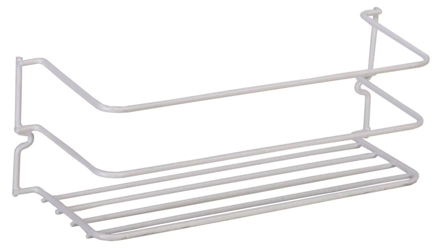 40501, Large Cabinet Rack, White, Grayline 40501 12 X 4 X