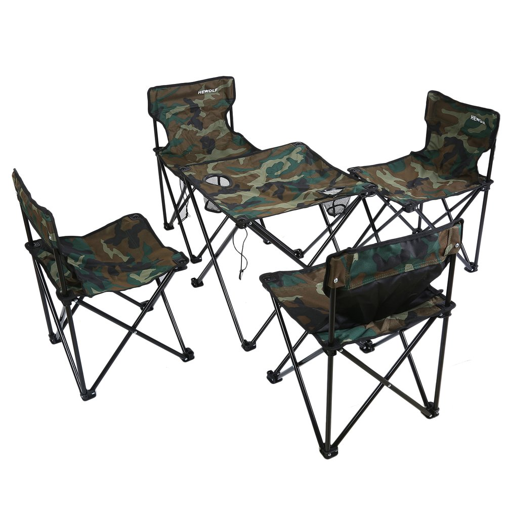 high end folding chairs bathtub for elderly complete sets of travel goods small outdoor tables furniture table desk and chair camouflage combination set tour