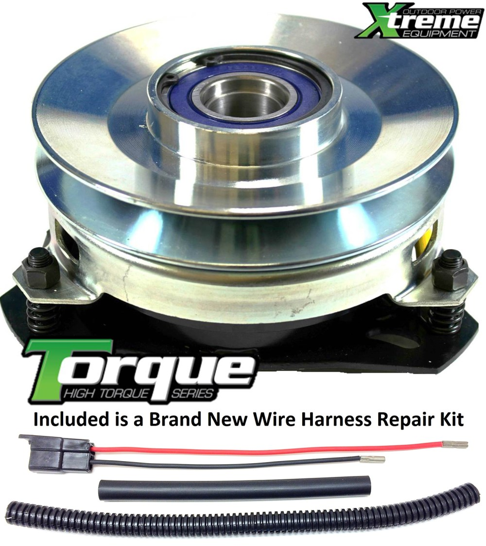 medium resolution of bundle 2 items pto electric blade clutch wire harness repair kit replaces husqvarna 127170x pto clutch torque upgrade w wire harness repair kit