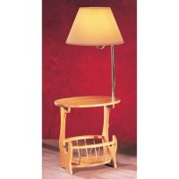 Anthony of California W5107F Solid Oak with Magazine Rack ...