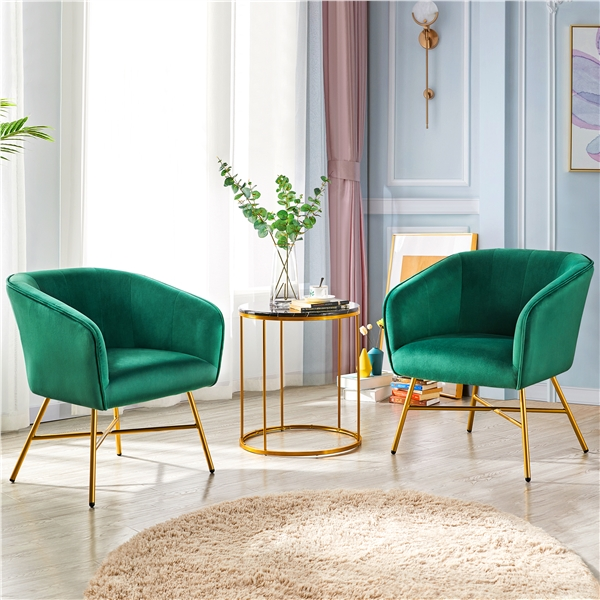 But it is the chair's futuristic design that catches our eye, pairing a classic black main scheme with understated colour trimmings and highlighting that looks fantastic in any of the five colours available (yellow, brown, red, grey or white). Yaheetech Set of 2Accent Chair Upholstered Dining Chair ...