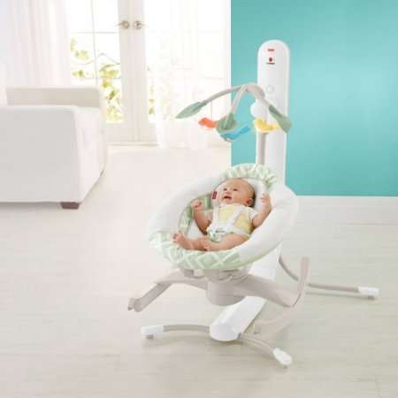 baby chair swinging model no ts bs 16 bedroom galway fisher price 4 motion cradle n swing with smart connect walmart com