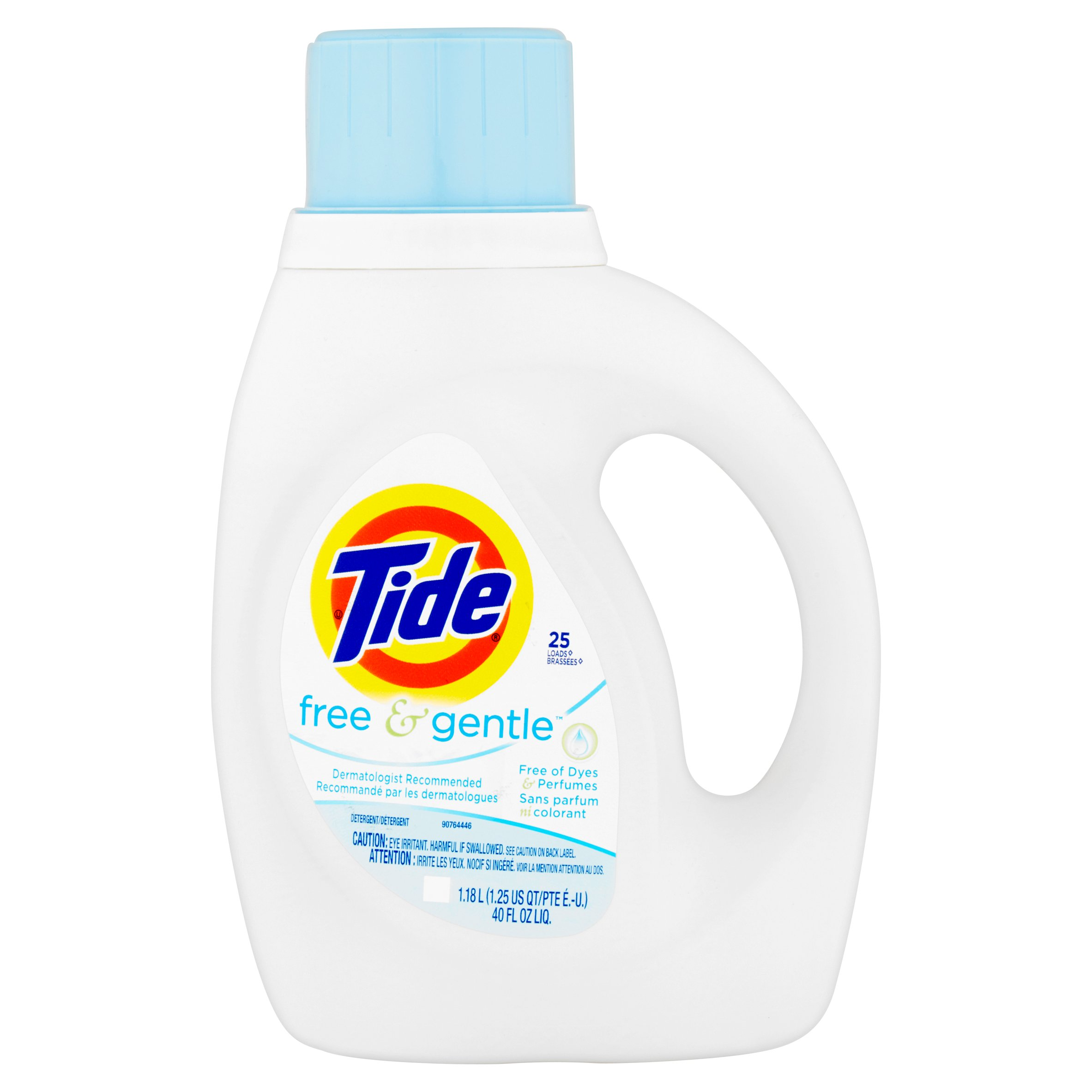 Tide Free and Gentle Liquid Laundry Detergent 25 Loads
