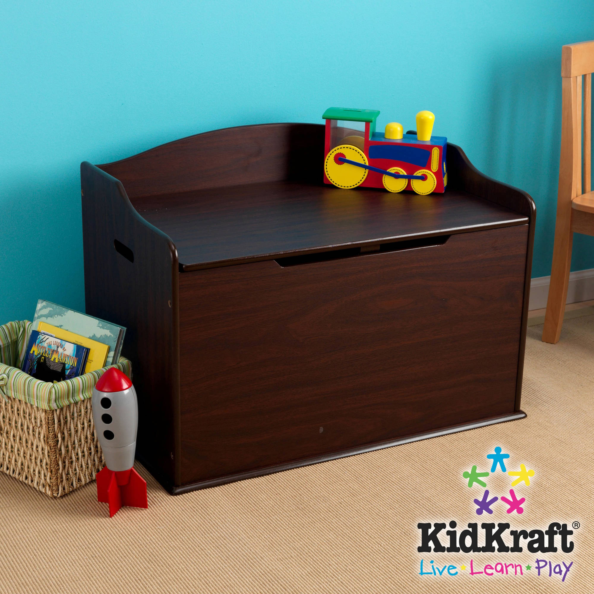 Kidkraft Austin Toy Box Multiple Colors Walmart