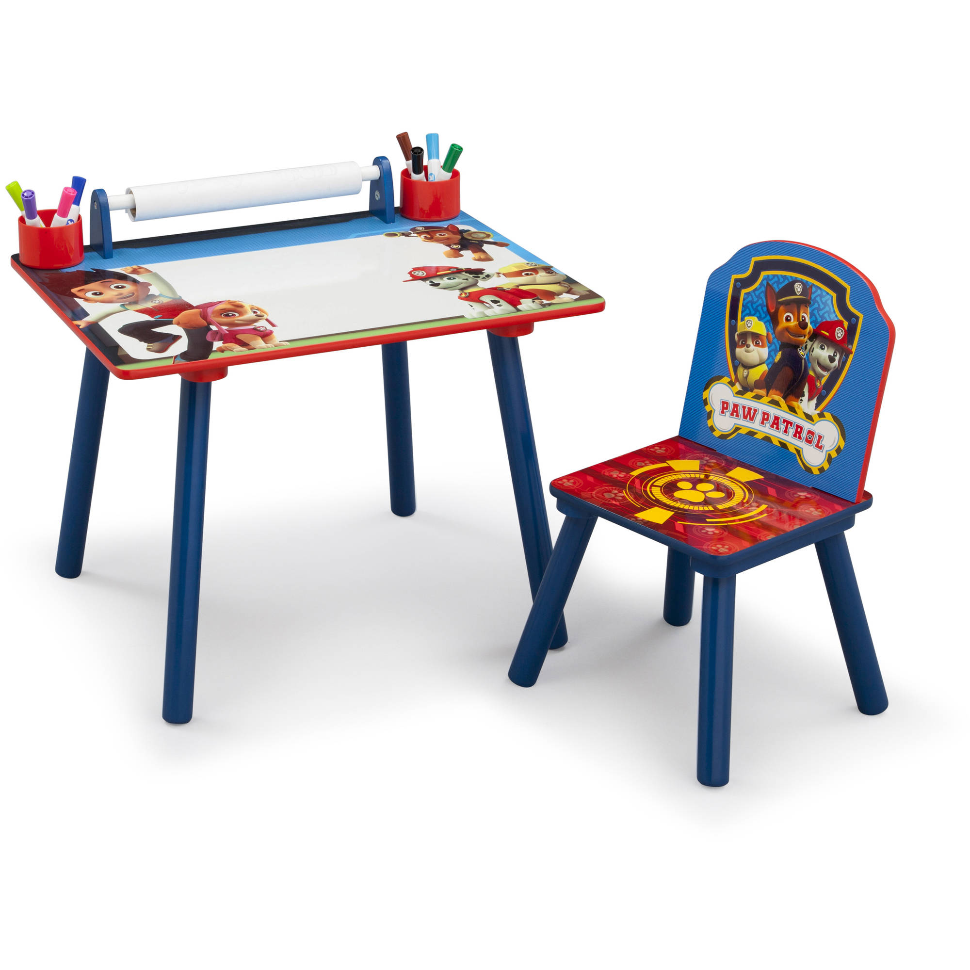 Paw Patrol Toddler Art Desk with Chair  Walmartcom