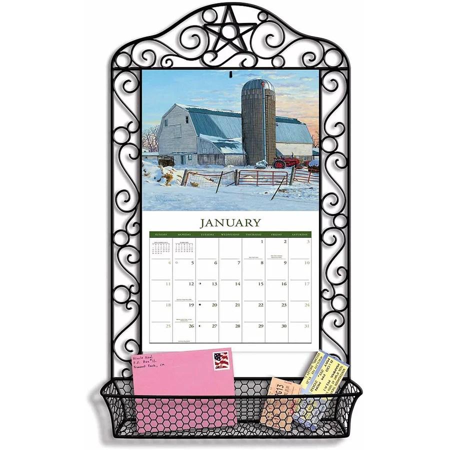 Lang Wrought Iron Calendar Frame Calendar Frame Wrought