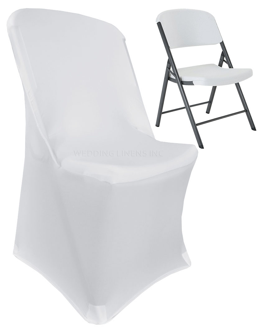 stretch chair covers gray dining chairs with arms wedding linens inc lifetime spandex fitted folding party decoration cover white walmart com