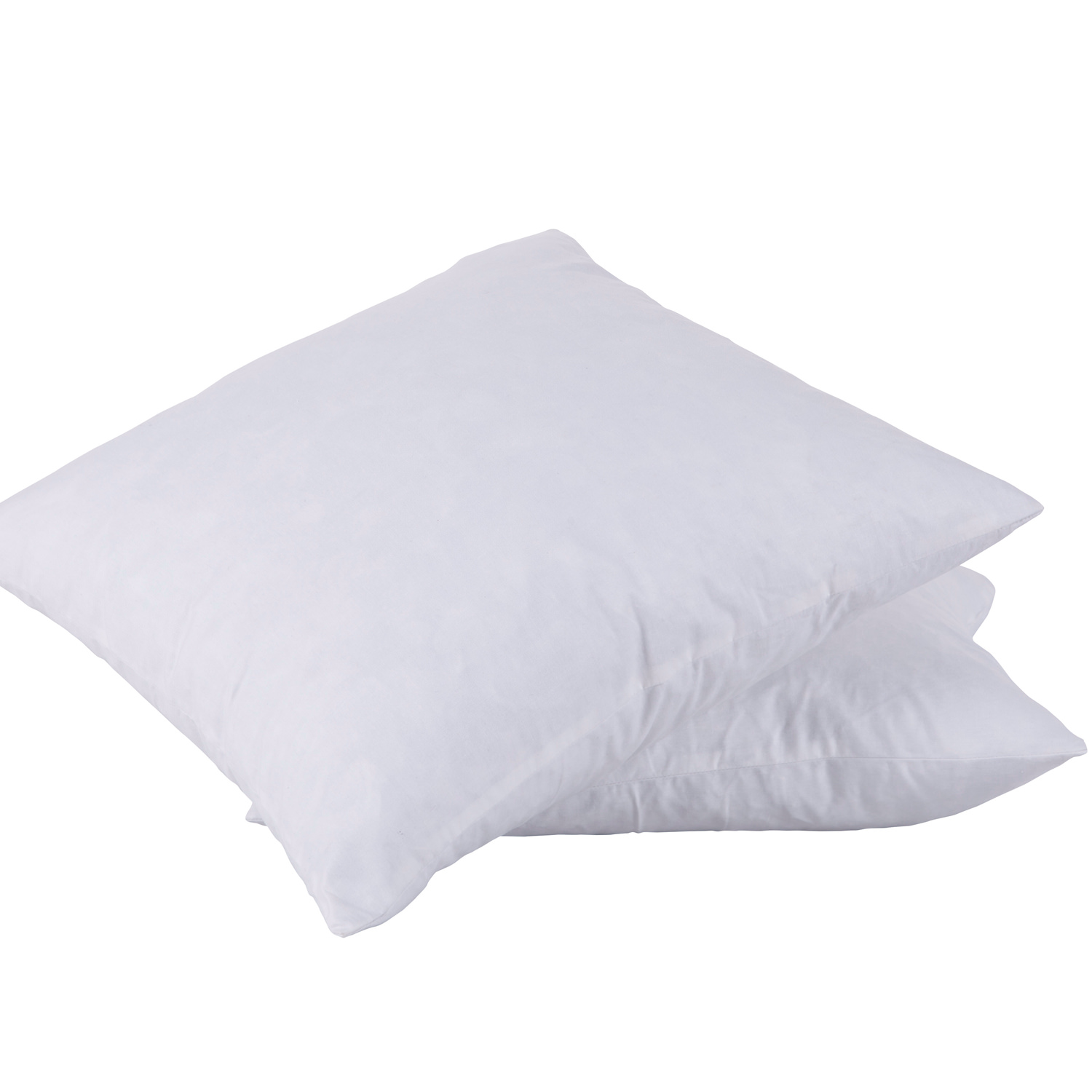 puredown 20x20 95 feather 5 down square pillow insert pack of 2