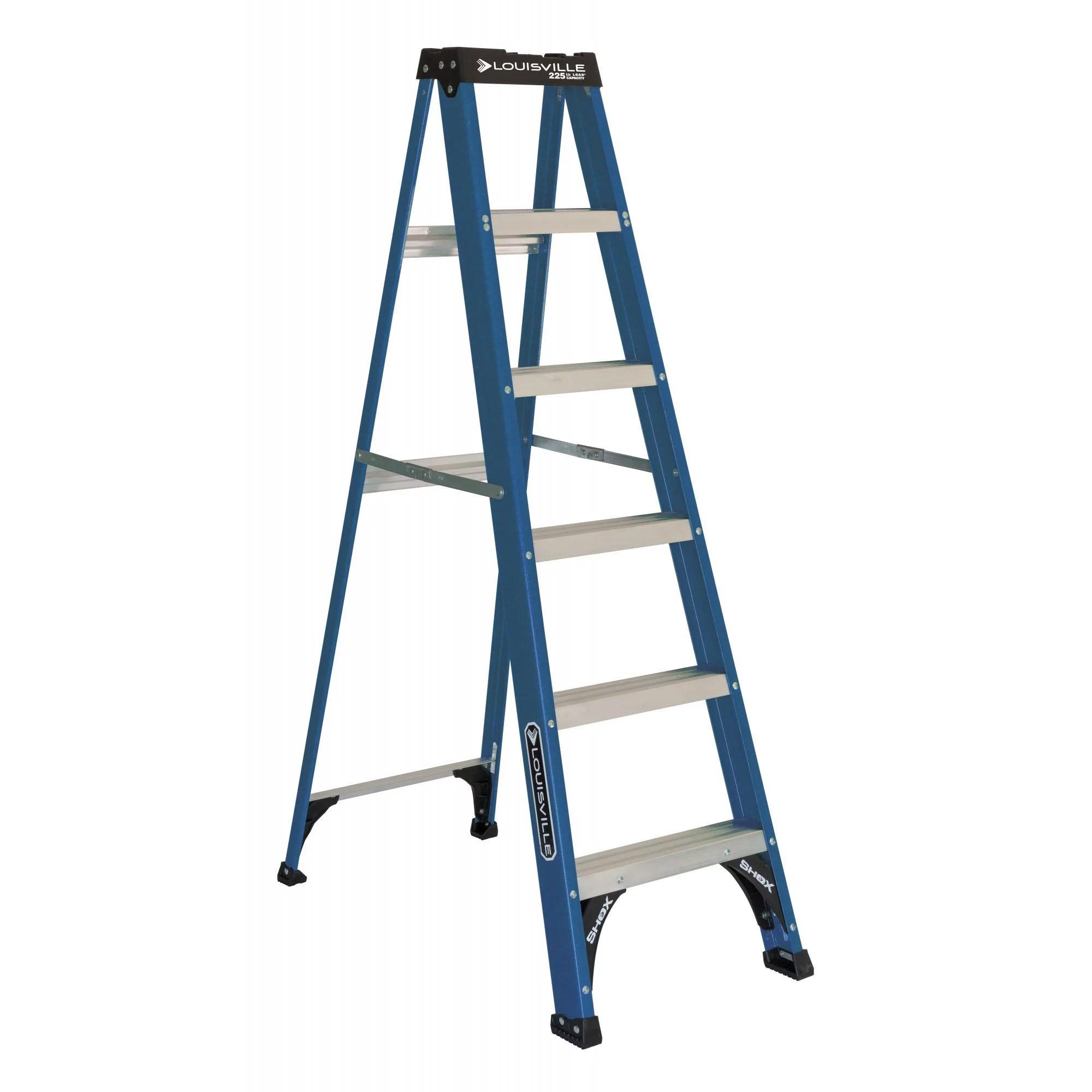 louisville ladder 6 foot