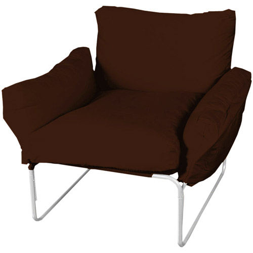 Super Cool Lounge Chair Brown  Walmartcom