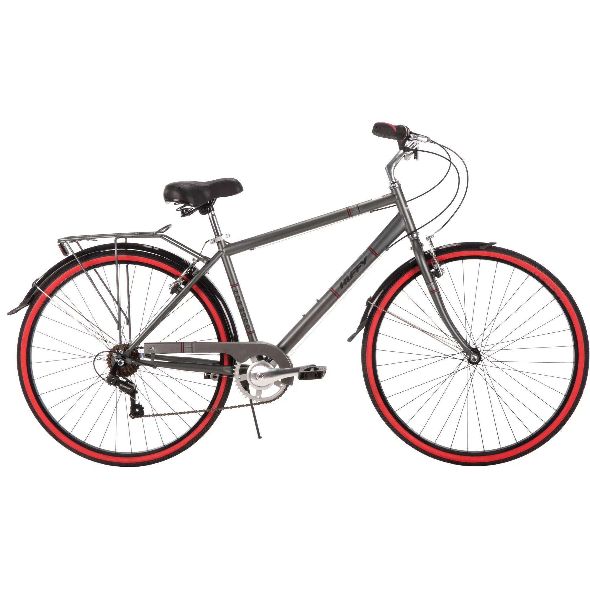 700C Huffy Men's Norwood Cruiser Bike, Grey 028914567662
