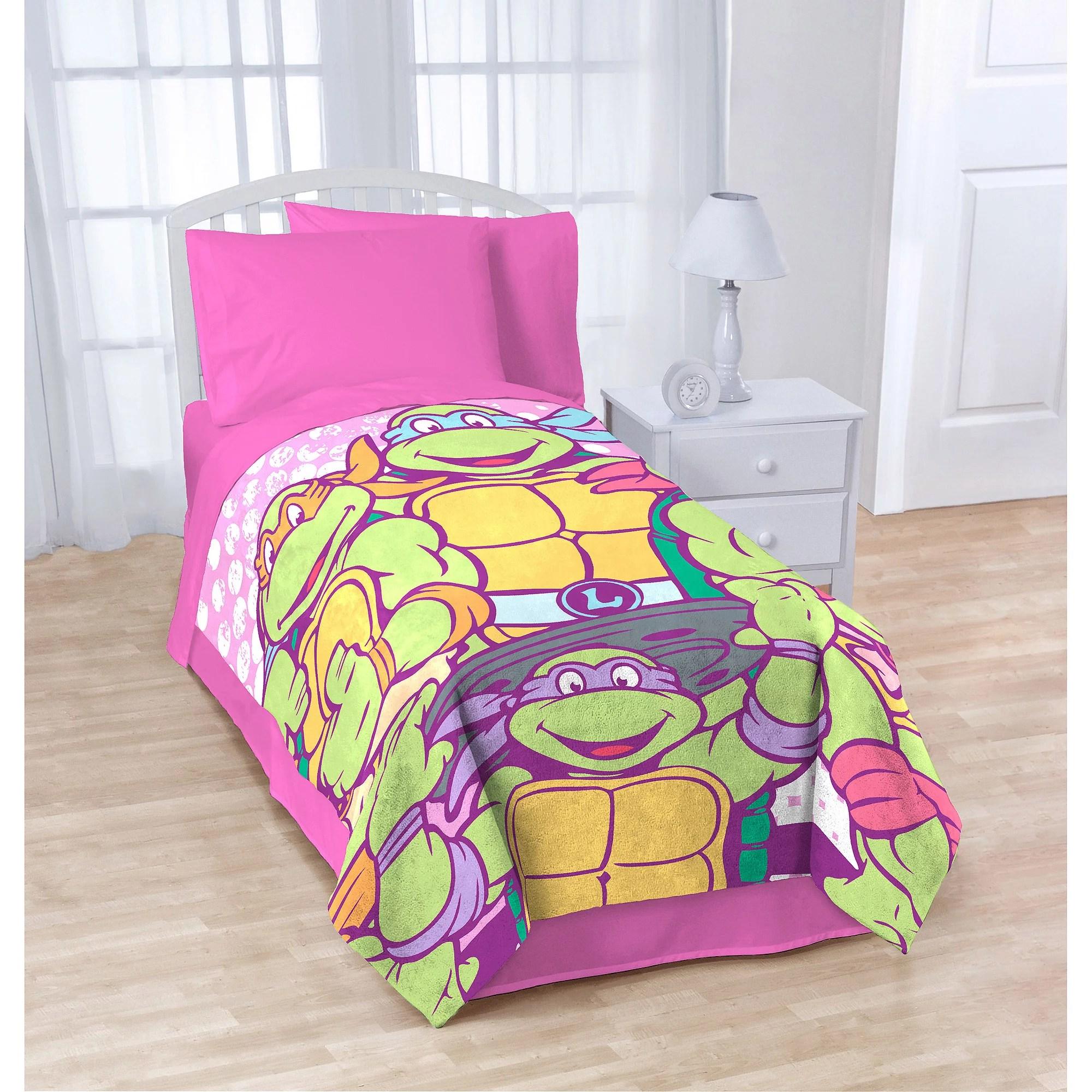 Nickelodeon Teenage Mutant Ninja Turtles SHELLASTIC Blanket  Walmartcom