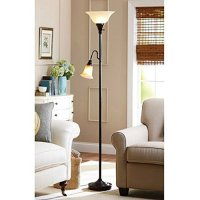 69.75 Inch Classic Floor Lamp with Reading Task Lamp For ...