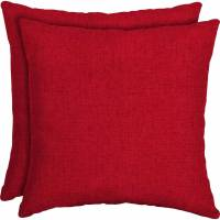 "Mainstays Outdoor Patio 16"" Square Toss Pillow, Set of 2 ..."