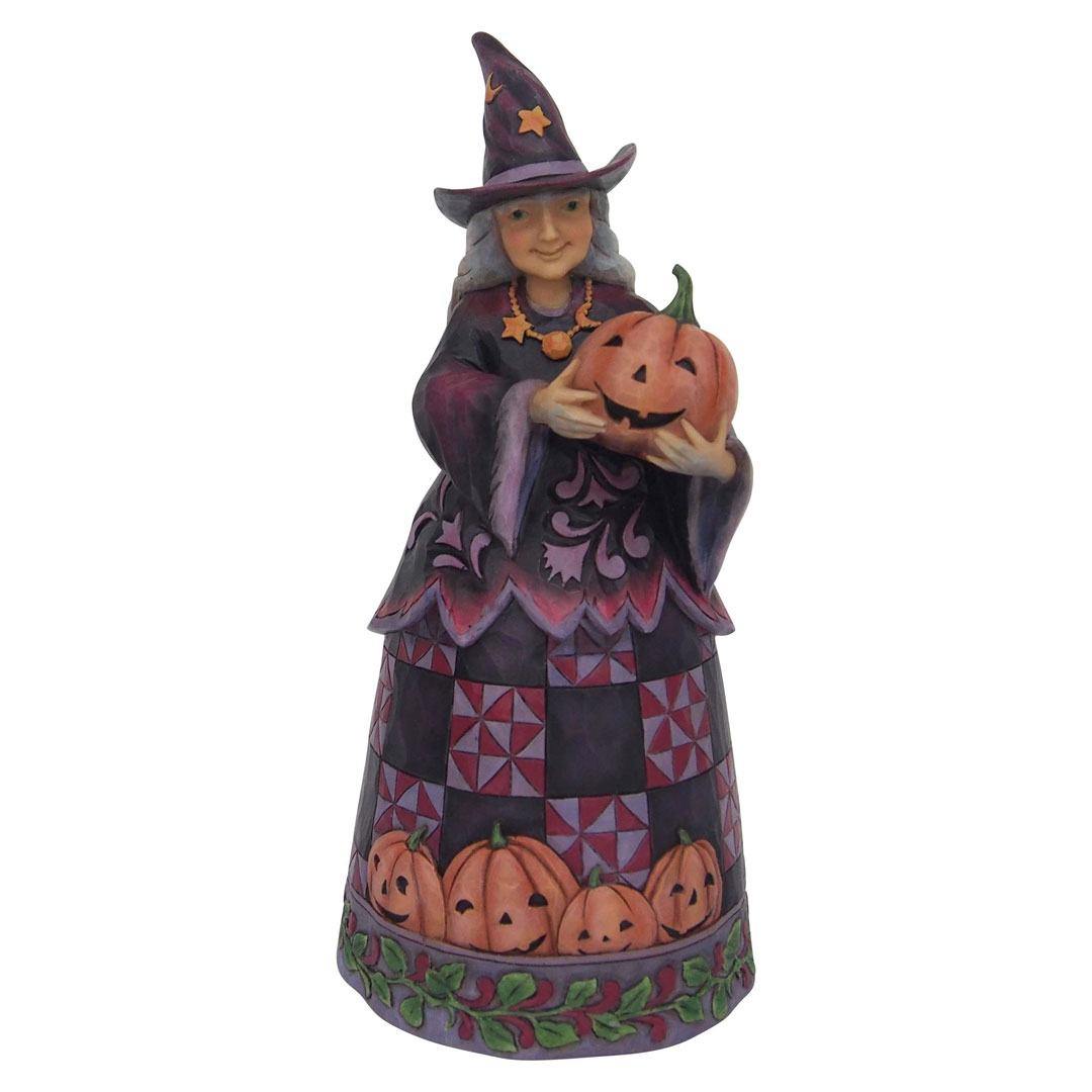 Now comes the time to delve into movies with our list of some of the best titles of the year. Jim Shore Halloween 6001547 Halloween Witch with Pumpkin 2018 - Walmart.com - Walmart.com