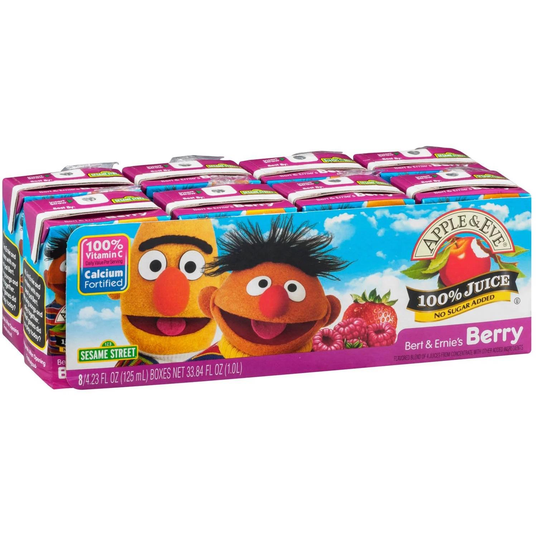 Apple Eve Sesame Street Bert Ernie39s Berry Juice 423
