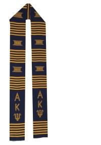 Alpha Kappa Psi Kente African Graduation Stole Stoll ...