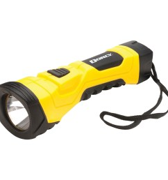 dorcy 190 lumen cyberlight durable led flashlight with true spot reflector yellow walmart com [ 1500 x 1500 Pixel ]