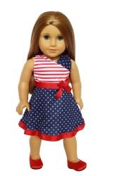 american doll dolls clothes walmart inch dress pride brittany