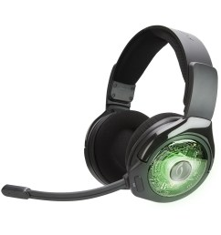 pdp xbox one afterglow ag 9 prismatic true wireless gaming headset black 048 056 na walmart com [ 1500 x 1500 Pixel ]
