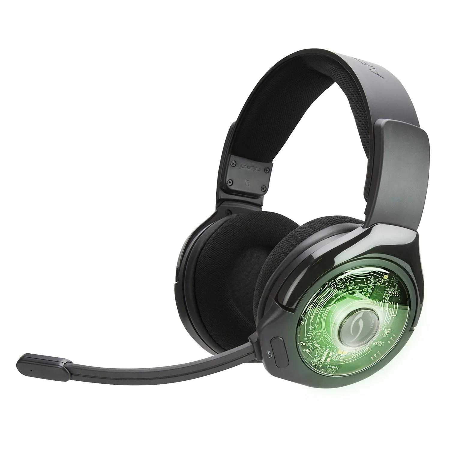 hight resolution of pdp xbox one afterglow ag 9 prismatic true wireless gaming headset black 048 056 na walmart com