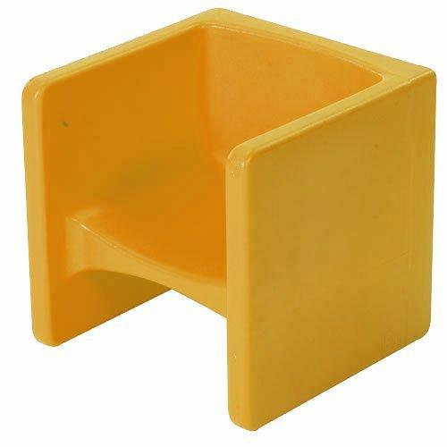 Children s Factory CF910010 Chair Cube Yellow  Walmartcom