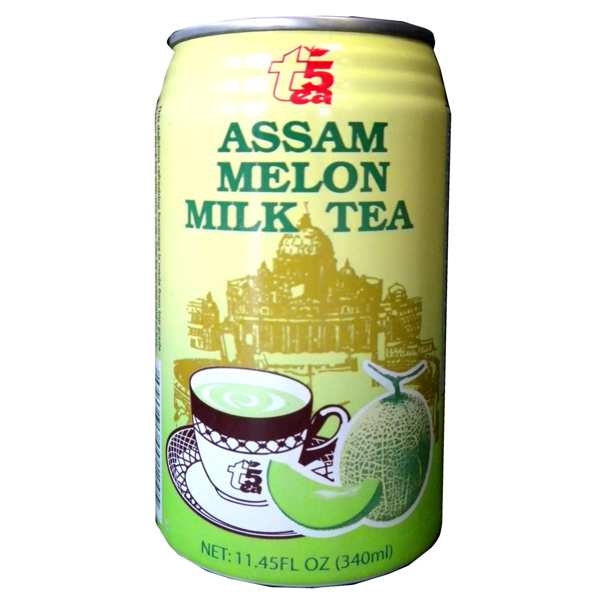 Tea 5 Assam Melon Milk Tea 11.45floz - Walmart.com ...
