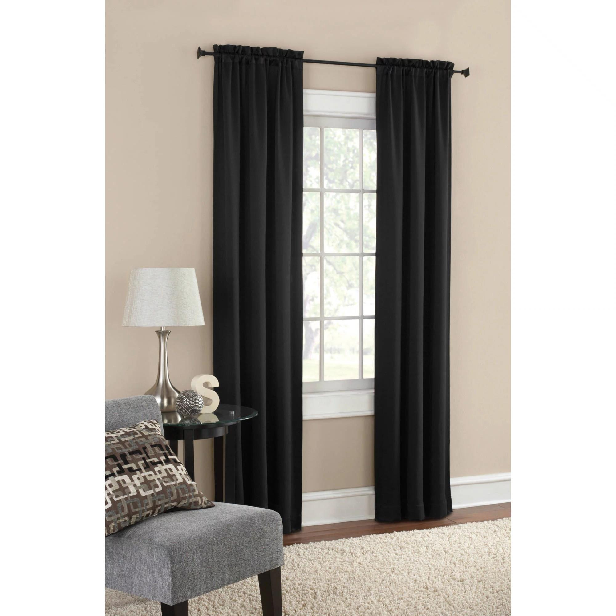 Energy Efficient & Blackout Curtains Walmart Com