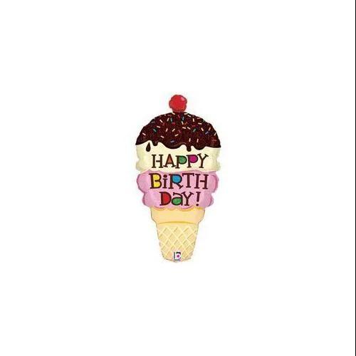 ice cream cone shaped