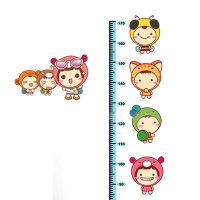 Unique Bargains Home Room Removable Cartoon Height Chart ...