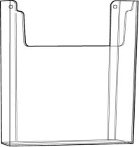 Gibson Holders 1084E 8.5 x 11 Inches Acrylic Wall Mount ...