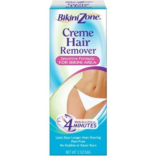 Bikini Zone Ultra-Smooth Bikini Creme Hair Remover 2 oz ...