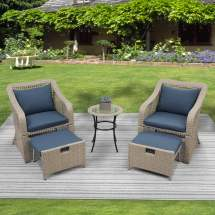 5-piece patio furniture set outdoor