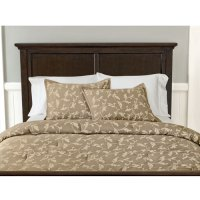 Canopy Garden Scroll Comforter Set, Clay Beige