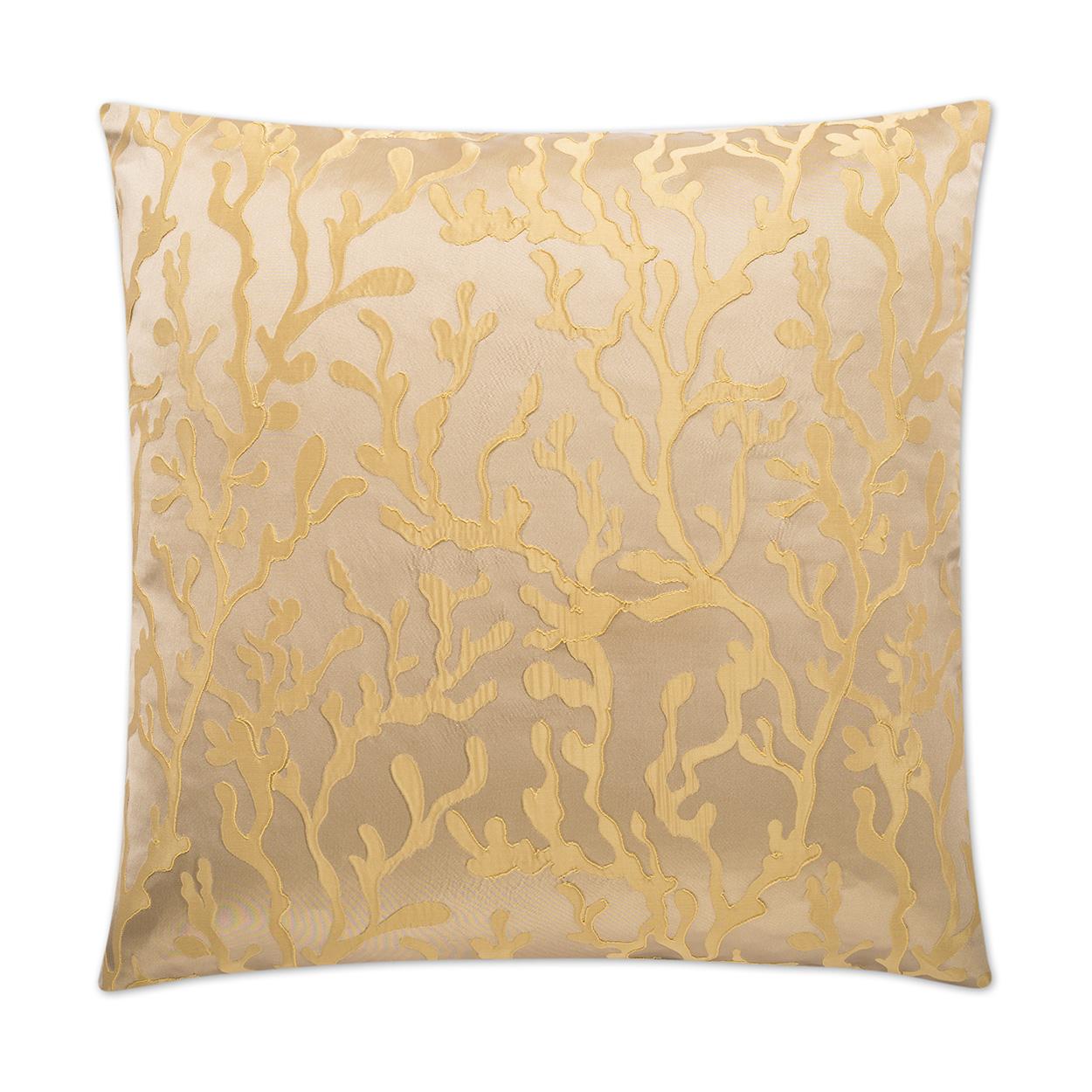Canaan Company Barrier Gold Accent Pillow 2307G  Walmartcom