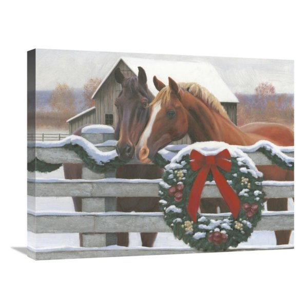 Global Christmas In Heartland Ii Wall Art