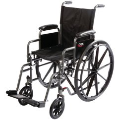 Carex Transport Chair Keter Multi Dine High Wheelchair With Swing Away Footrests And Removable Armrests Walmart Com