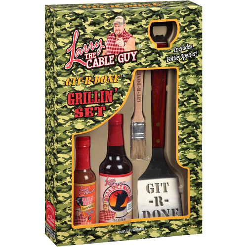 Larry The Cable Guy Bbq Set