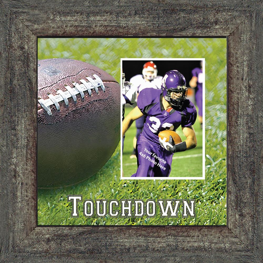 personalized football frame football