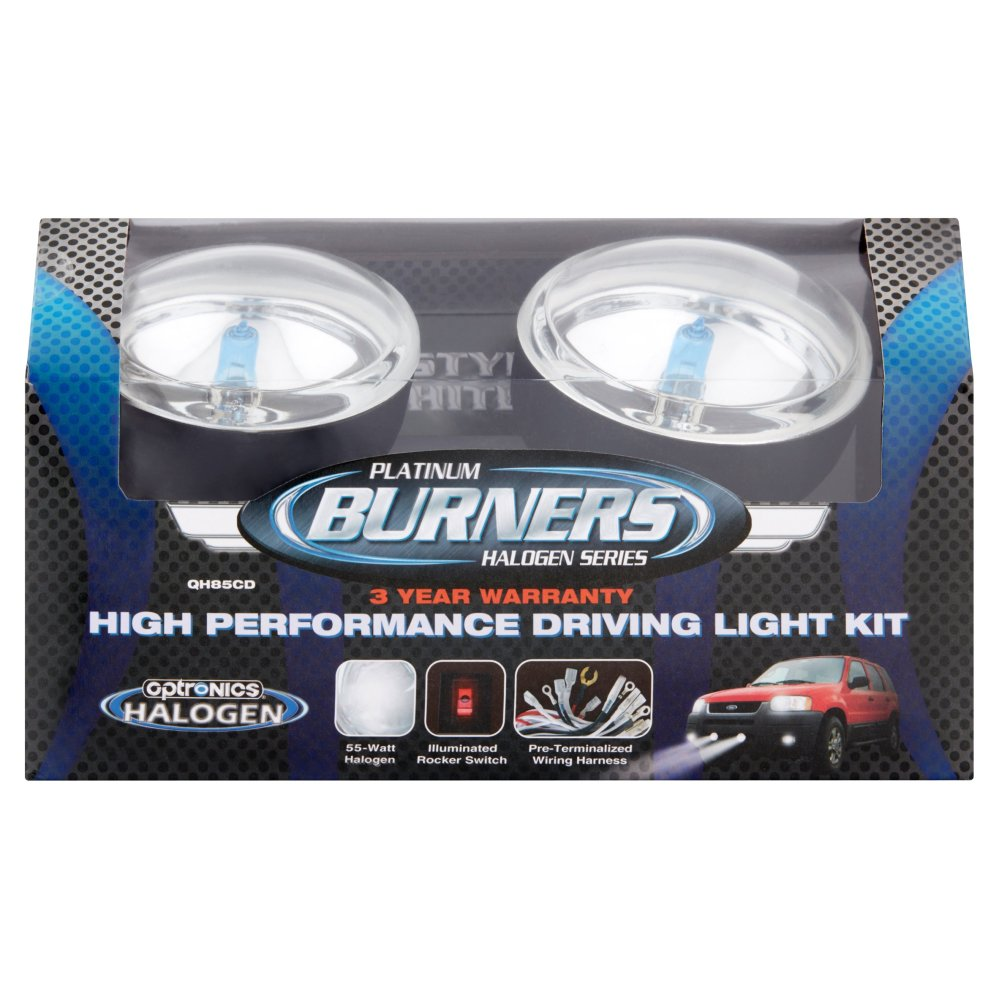 medium resolution of optronics platinum burners halogen series high performance driving light kit walmart com