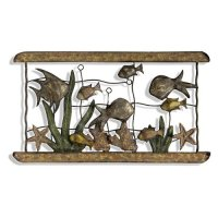 Fish Aquarium Metal Wall Art - Walmart.com