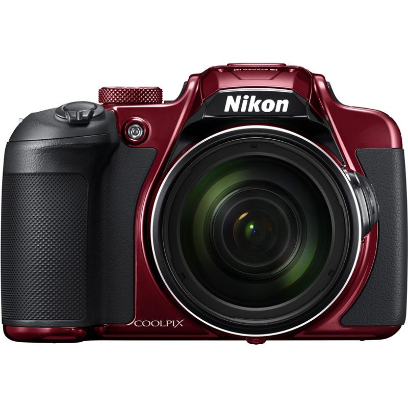 Nikon COOLPIX B700 20.2MP Point and Shoot Digital Camera - Red