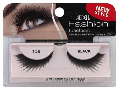 Ardell Fashion Lashes False Eyelashes  139 Black Pack