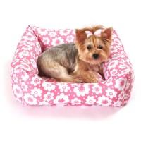 Simplydog, Pink Floral Bed - Walmart.com