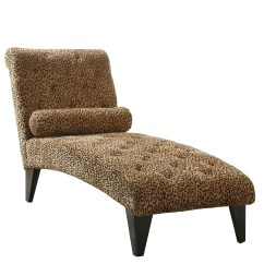 Leopard Print Accent Chair Rubber Feet For Metal Legs Animal Living Room Chairs